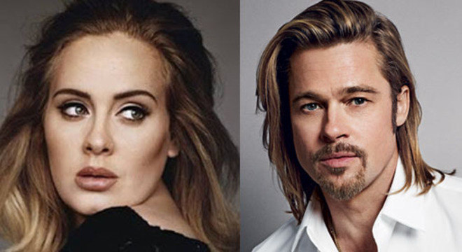 Adele e Brad Pitt pode ser um novo casal