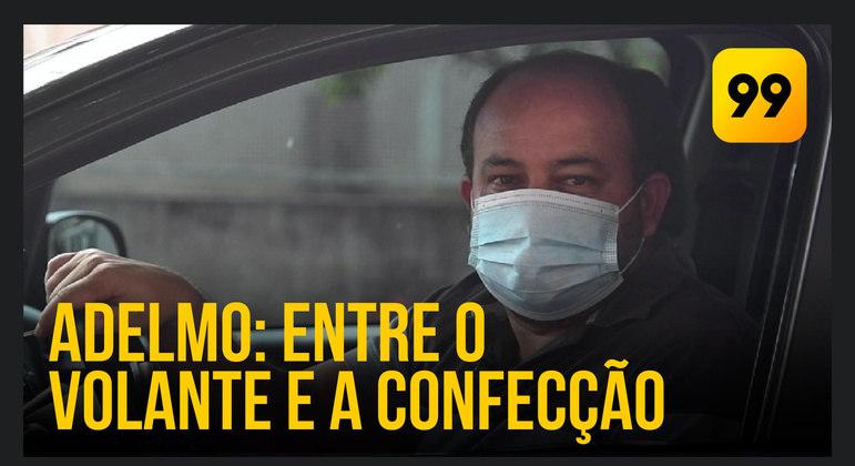 Adelmo Camargo é motorista de aplicativo em Atibaia (SP)
