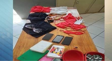 Polícia encontrou produtos eróticos na casa da suspeita