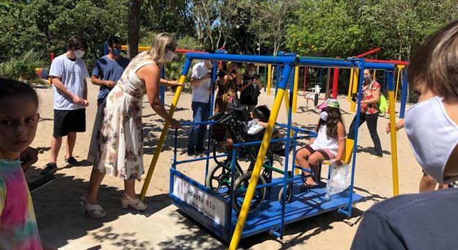 Jovens criam primeiro parque adaptado do Rio de Janeiro