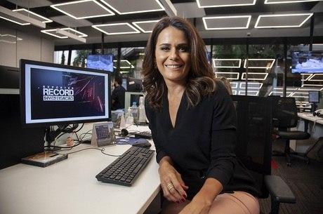 """Adriana Araújo estreia no """"Repórter Record Investigação"""""""