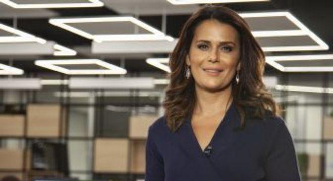 Adriana Araújo. Foto: Divulgação/Record TV