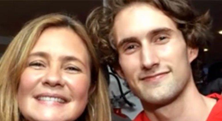 Adriana e Marco tiveram um longo relacionamento, de 1994 a 2004.  Em 2000, eles se tornaram pais de Felipe.