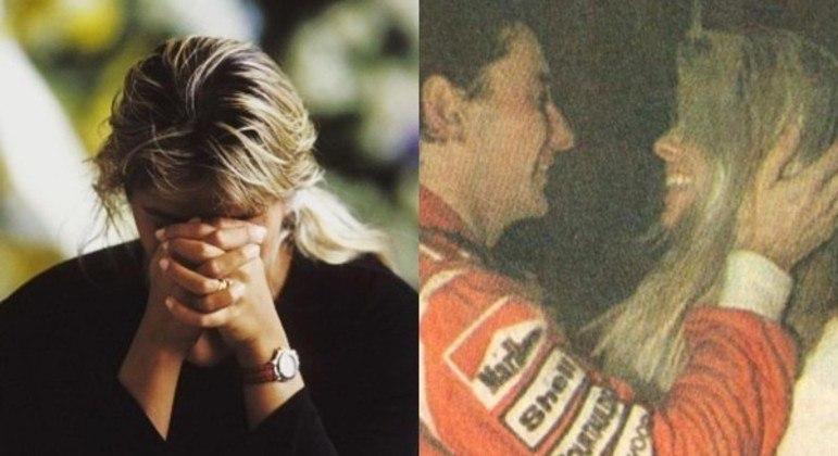 Galisteu e Senna viveram uma história de amor de aproximadamente 18 meses