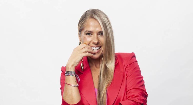 """Adriane Galisteu comemora os bons resultados do """"Power Couple"""" na Record"""