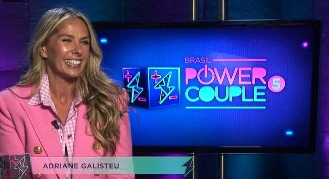 Galisteu confessou que está ansiosa e nervosa para a estreia do reality show
