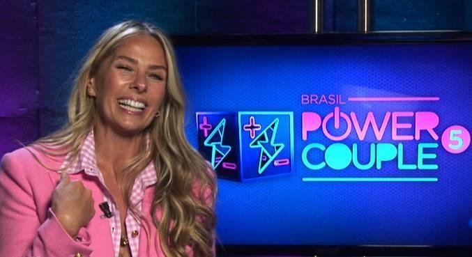 Adriane Galisteu revela novidades sobre a nova temporada de Power Couple Brasil