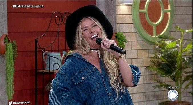 É a primeira vez que o reality show rural da Record TV é apresentado por uma mulher