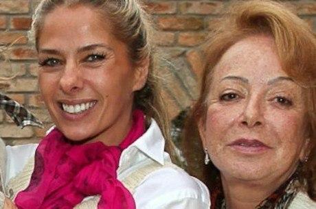 Adriane Galisteu e Suely Iódice: sogra está internada