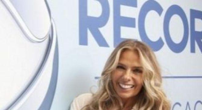 Adriane Galisteu. Foto: Divulgação/Record TV