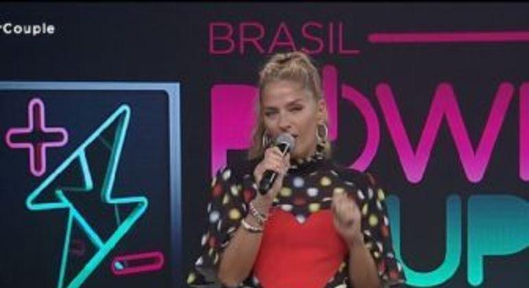 Adriane Galisteu. Foto: Reprodução/Record TV