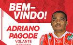 Adriano, Adriano Pagode