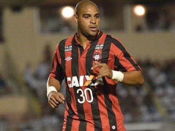 Adriano Imperador atuou por apenas quatro jogos no Athletico-PR, tendo marcado um único gol com a camisa do Furacão. Teve contrato rescindido após duas faltas em treinos