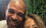 Adriano Imperador, ídolo da seleção brasileira e do Flamengo, se envolveu em mais uma polêmica. Dessa vez, com a agora ex-namoradaMicaela Mesquita