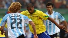 Adriano relembra golaço contra Argentina na final da Copa América