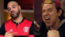 Adriano ganha mensagem especial de Quico, do 'Chaves'; veja vídeo