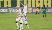 Promessas brilham, Corinthians vence o Cuiabá e sobe para 10º