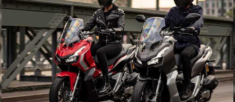 Material da Honda ADV 150: baseada na PCX, terá motor de 150cc e 14,5cv de potência