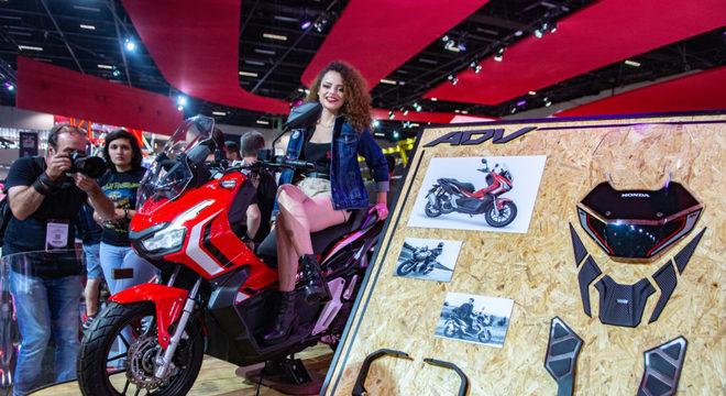 ADV 150: nova proposta para o segmento scooter. Gostou?  / Foto: Fabiano Godoy/MinutoMotor