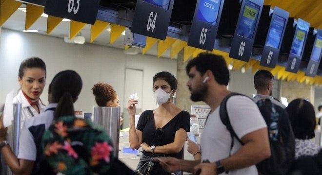 Ligação aérea entre Brasil e EUA permanece funcionando