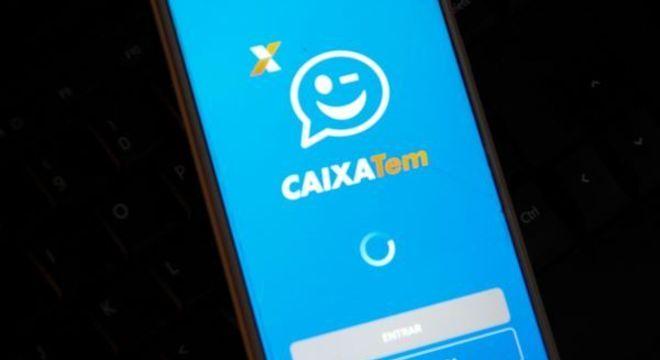 App da Caixa para obtenção do auxílio; benefício concentra disputas judiciais