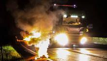 Caminhoneiros bloqueiam estradas pelo2º dia consecutivo no país