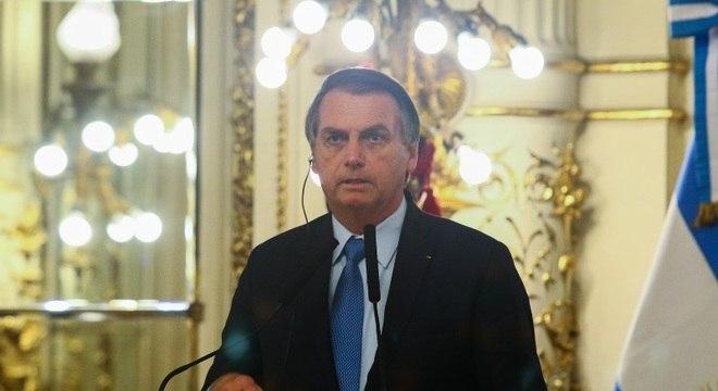 Bolsonaro diz que ideia é começar pelo Brasil e Argentina
