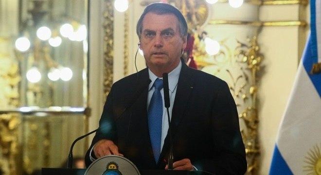 Bolsonaro se encontrou com Macri na Argentina