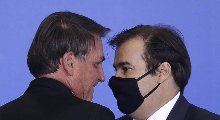 Maia ter se aliado ao PT  para derrotar candidato de Bolsonaro