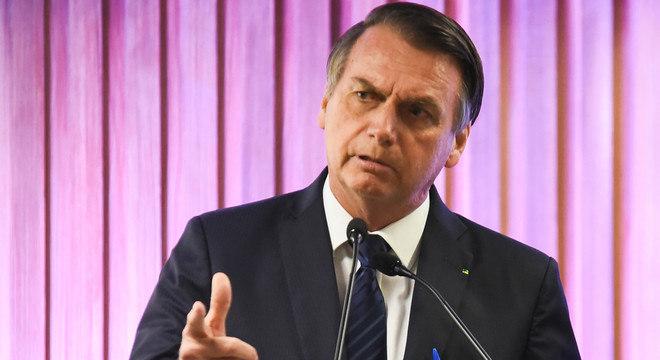 Bolsonaro diz que criminosos devem temer pacote anticrime