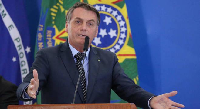 Bolsonaro defendeu o atraso no envio da reforma administrativa ao Congresso