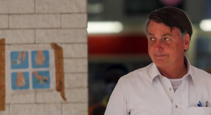 O presidente Jair Bolsonaro, que vetou trecho da LDO
