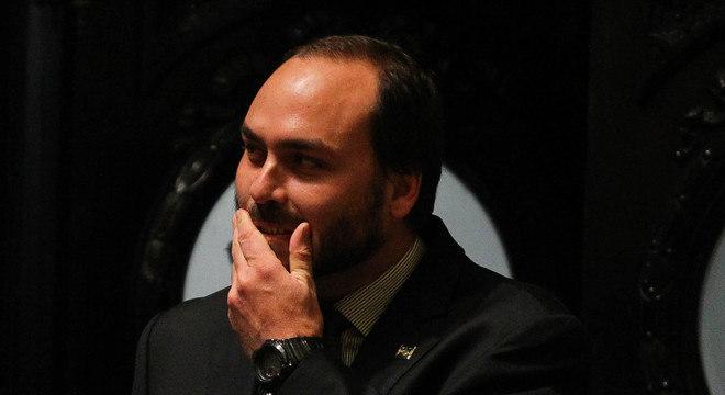 O vereador  Carlos Bolsonaro (Republicanos-RJ)
