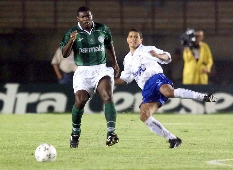 Cléber fez história com a camisa do Palmeiras