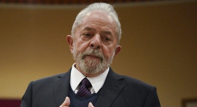 O ex-presidente Lula, que teve sentença mantida no caso do sítio