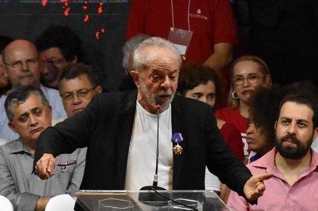 Lula participou de Congresso Nacional do PT