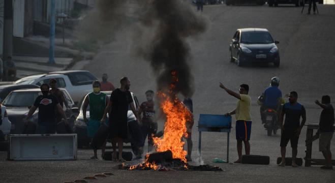 Com racionamento, Macapá enfrentou onda de manifestações no final de semana
