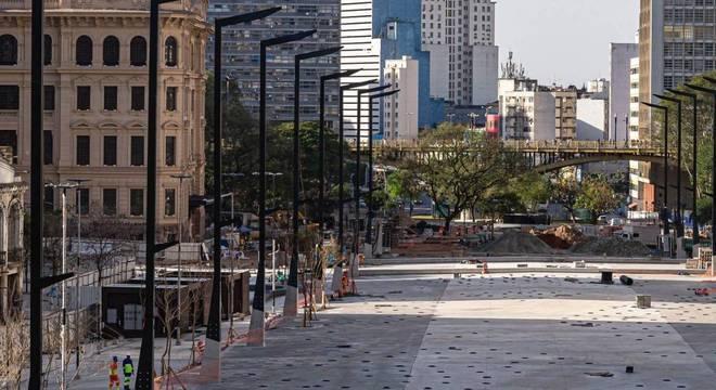 Obra de requalificação do Vale do Anhangabaú começou em junho de 2019