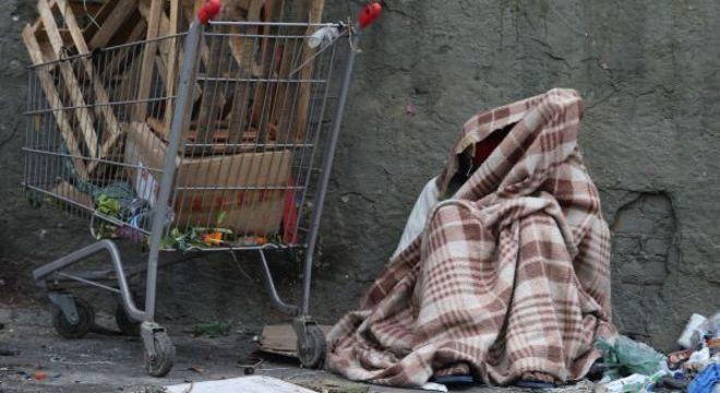 População de rua sofre durante inverno