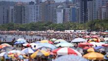 Baixada Santista vai fechar praias no Réveillon contra aglomeração