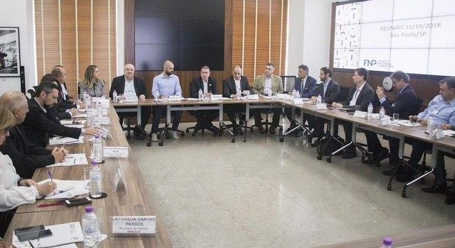 Prefeitos da FNP fizeram reunião na Prefeitura de São Paulo