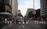 Em São Paulo, as manifestações começaram durante a tarde, com concentração no vão livre do Masp e na Avenida Paulista