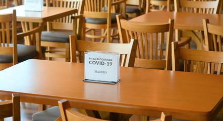 Restaurantes são contra medida do governo