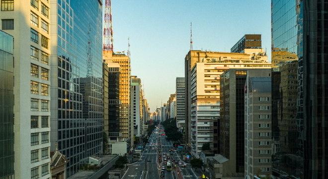 Avenida Paulista, um dos pontos que concentram salas comerciais em SP