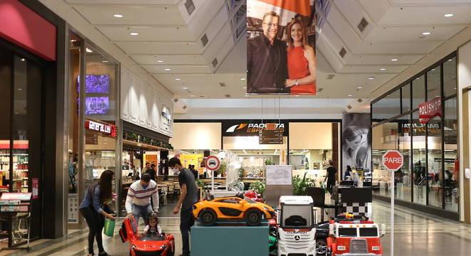 Shopping em Blumenau foi reaberto no processo de retomada anunciado em SC