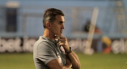 O técnico Vágner Mancini, do Corinthians