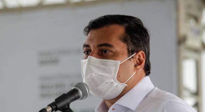 O governador do Amazonas, Wilson Lima (PSC), que vai sortear ingressos para estimular vacinação