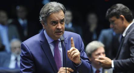 Na imagem, deputado Aécio Neves (PSDB-MG)