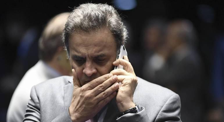 Aécio Neves era acusado de lavagem de dinheiro, além de corrupção passiva e ativa
