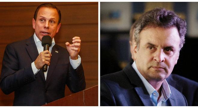 Escolha de líder do PSDB reedita embate entre Aécio e Doria